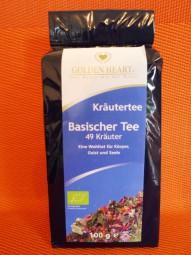 Basischer Tee mit 49 Bio-Kräutern, 100 g