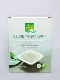 Grüne Tonerde, 300 g Pulver, extrafein