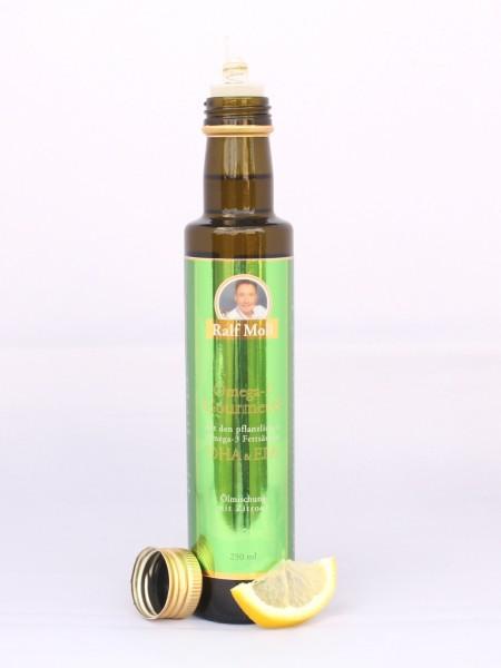 Ralf Moll Omega-3-Gourmetöl mit EPA und DHA (Bio-Oliven-, Bio-Sesam-, Bio-Hanföl), 250 ml