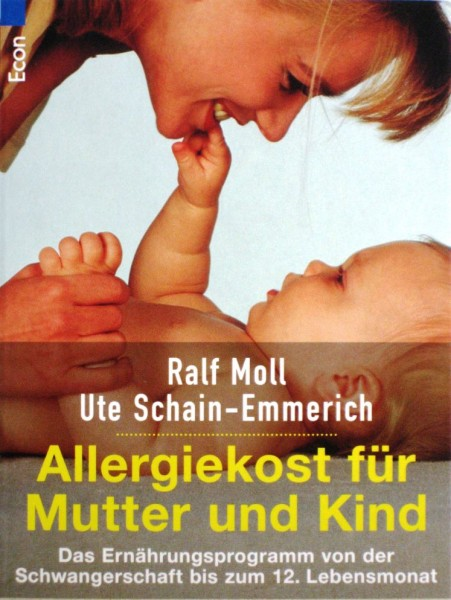 """Buch """"Allergiekost für Mutter und Kind"""" Ralf Moll"""