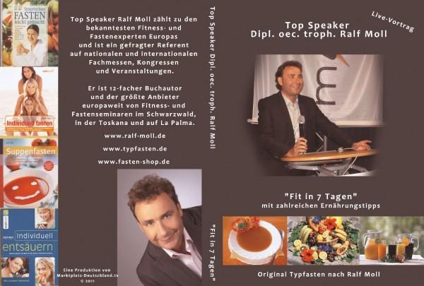"DVD ""Fit in 7 Tagen"" - Live-Vortrag - Ralf Moll"