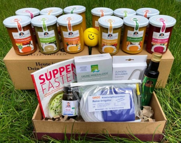 Original Suppenfasten-Box von Ralf Moll, 19 Artikel