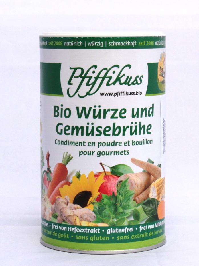 Pfiffikus / Bio-Gourmet-Streuwürze / Gemüsebrühe