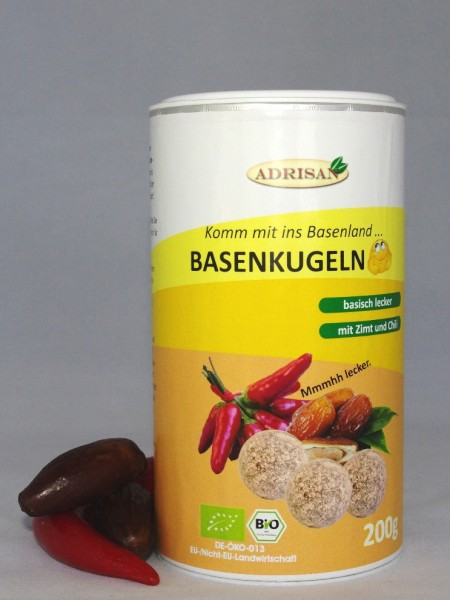 Bio-Basenkugeln, Der Basen-Snack, 200g