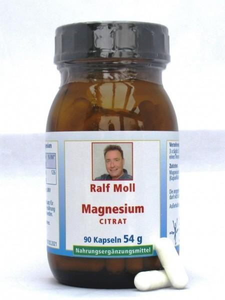 Magnesiumcitrat, 90 Kaps., 54 g