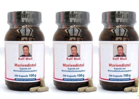 Leber-Aktion 3 x 100 g Mariendistel
