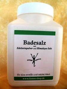 Basisches Badesalz, Pulver