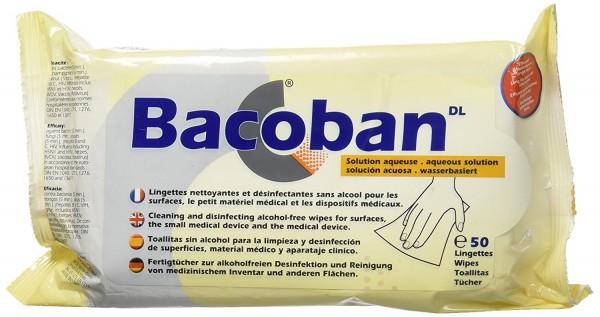 BACOBAN® 50 Fertigtücher Flächendesinfektion / wasserbasiert alkoholfrei