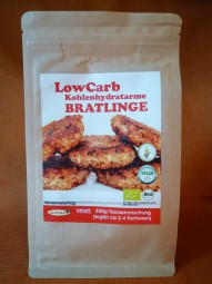 Bratlinge BIO, Low Carb, 250 g